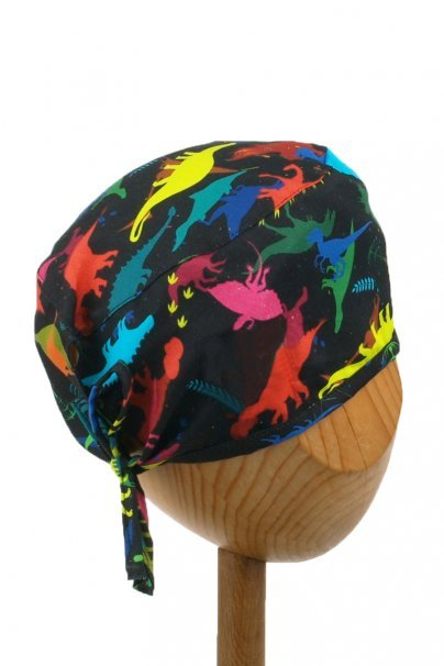 cepice-2 Zdravotnícka čiapka Sunrise Uniforms Style Unisex dinosaury