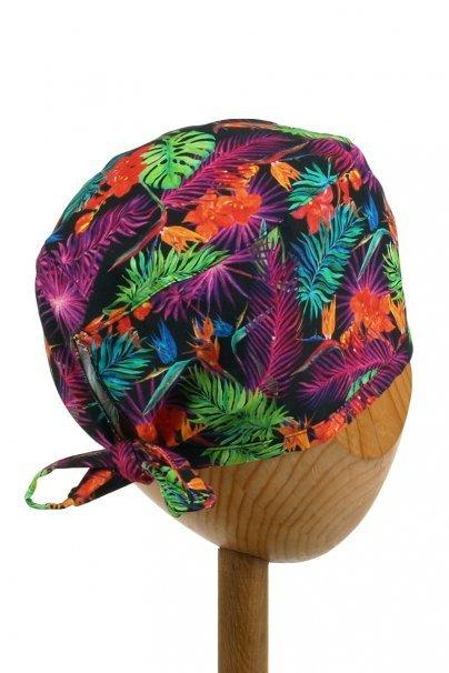 cepice-2 Zdravotnícka čiapka Sunrise Uniforms Style Unisex farebné listy