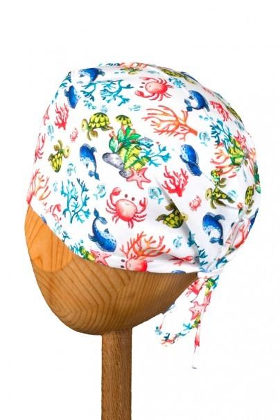 czepki-damskie Zdravotnícka čiapka Sunrise Uniforms Style Unisex veselý útes