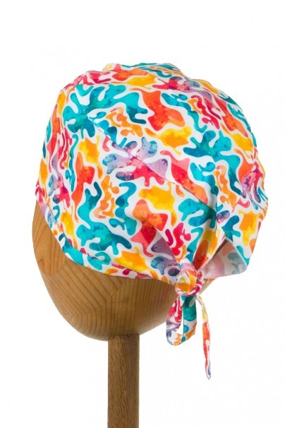 czepki-damskie Zdravotnícka čiapka Sunrise Uniforms Style Unisex abstraktné vzory