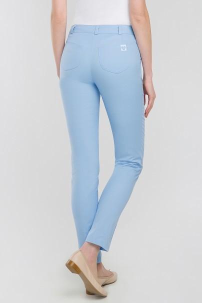 kalhoty-1-1 Lekárske nohavice Vena Cindy Slim modré