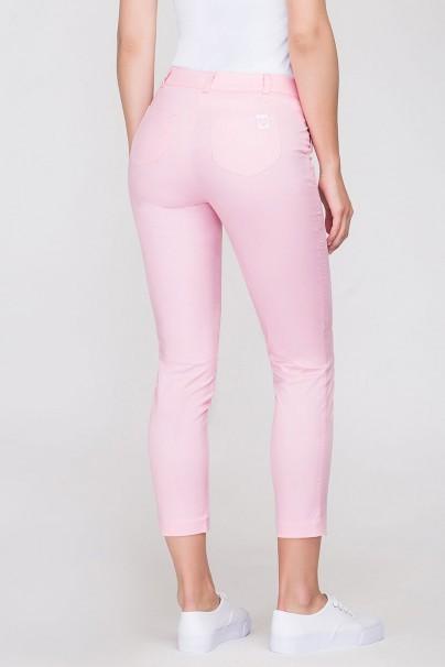 kalhoty-1-1 Dámské úplé zdravotnické nohavice Vena lososové