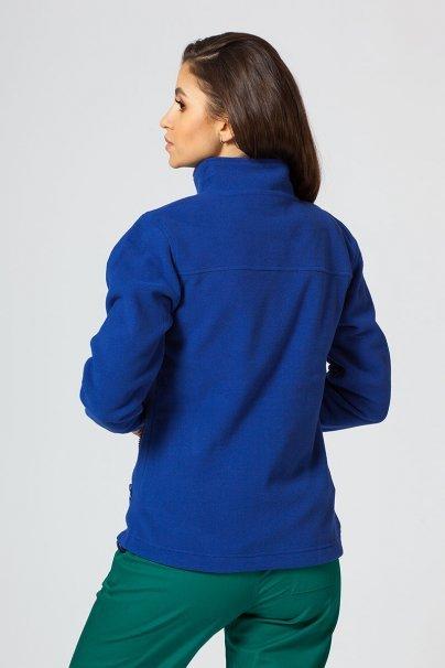 bluzy-polarowe-damskie Dámská zateplená mikina tmavě modrá