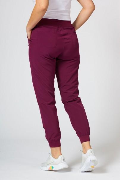spodnie-medyczne-damskie Dámské nohavice Maevn Matrix Impulse Jogger čerešňové červené
