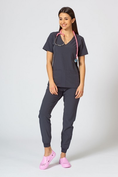 spodnie-medyczne-damskie Dámské nohavice Maevn Matrix Impulse Jogger šedé