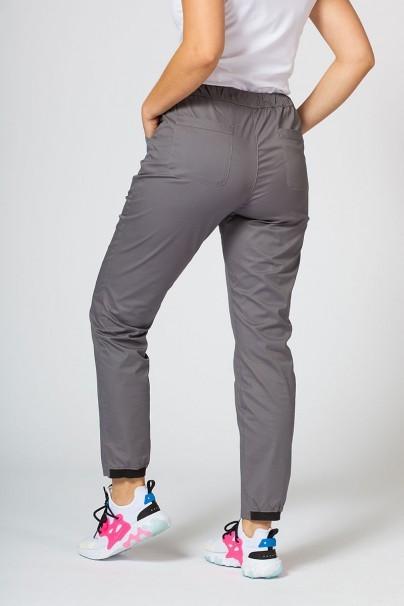 kalhoty-1-1 Lekárske nohavice Sunrise Uniforms Active (elastické), šedé