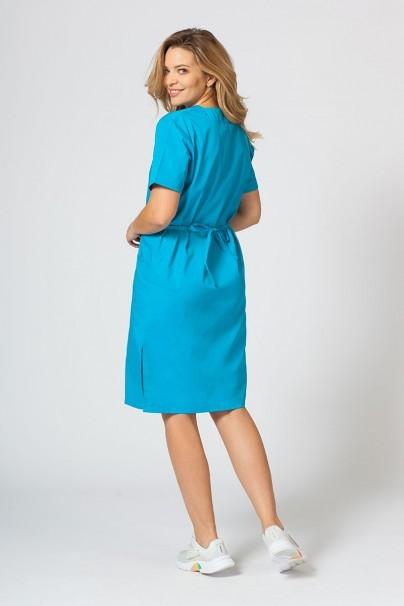 saty-1 Lékarské Jednoduché šaty Sunrise Uniforms tyrkysové