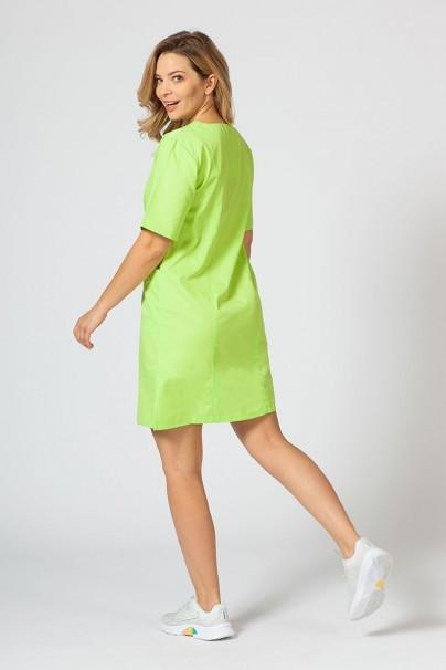saty-1 Lékařské Klasické šaty Sunrise Uniforms limetkové