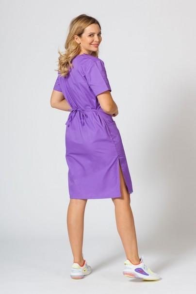 saty-1 Lékarské Jednoduché šaty Sunrise Uniforms fialové