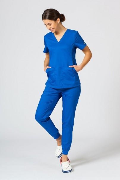 kalhoty-1-1 Dámske nohavice Maevn EON Sporty & Comfy jogger královsky modré