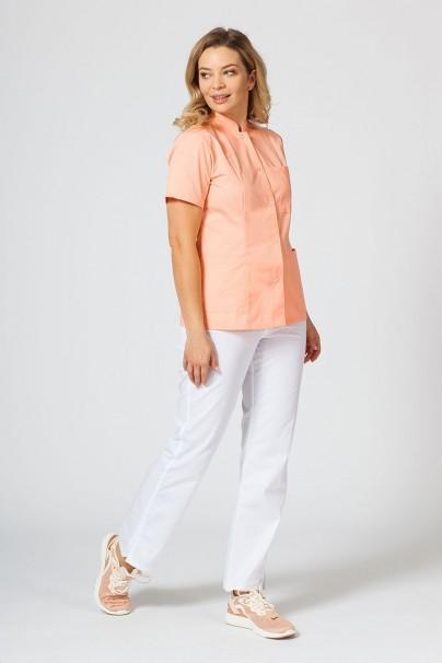saka-1 Fartuch medyczny Sunrise Uniforms lososová