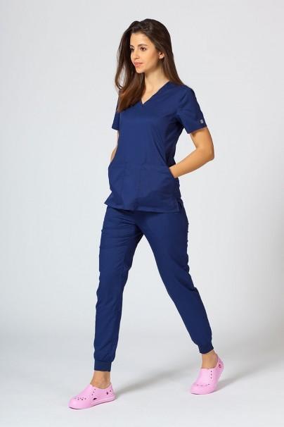 kalhoty-1-1 Dámske nohavice Maevn EON Sporty & Comfy jogger námornícky modré