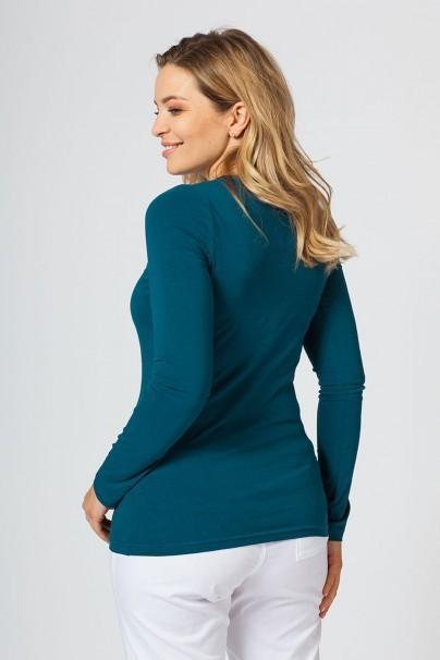 tricka-2 Dámske tričko s dlhým rukávom Malfini karaibsky modré