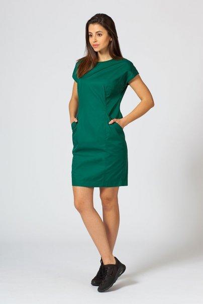 saty-1 Šaty Sunrise Uniforms Elite tmavo zelené