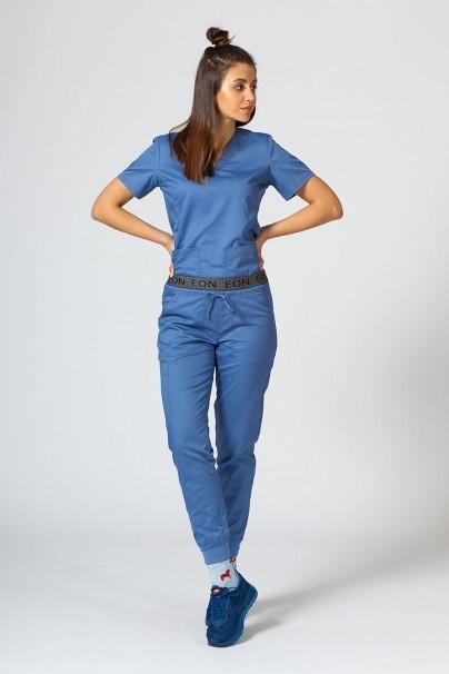 kalhoty-1-1 Dámske nohavice MaevnEON Sporty & Comfy jogger modré