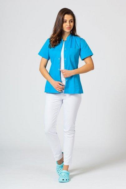 saka-1 Lékařské sako 01 Sunrise Uniforms tyrkysové