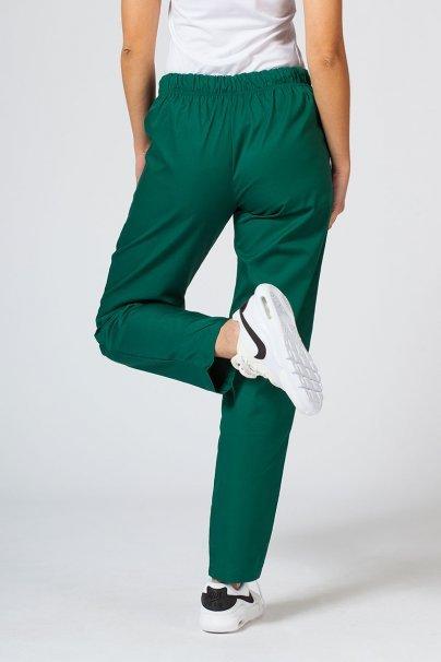 spodnie-medyczne-damskie Univerzální lékarské nohavice Sunrise Uniforms tmavo zelené