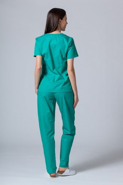 komplety-medyczne-damskie Zdravotnická súprava Sunrise Uniforms zelená