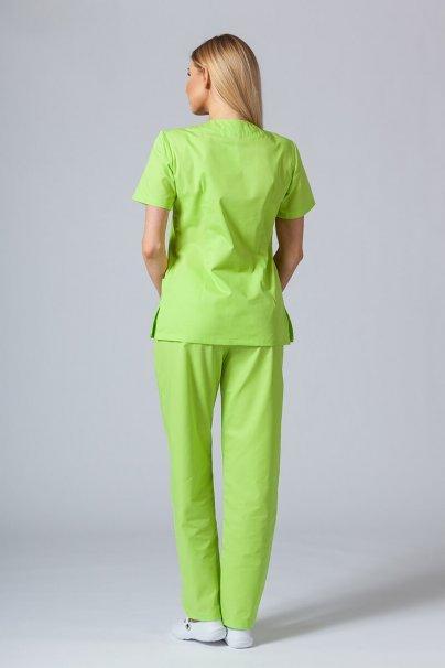 komplety-medyczne-damskie Zdravotnický komplet Sunrise Uniforms limetkový