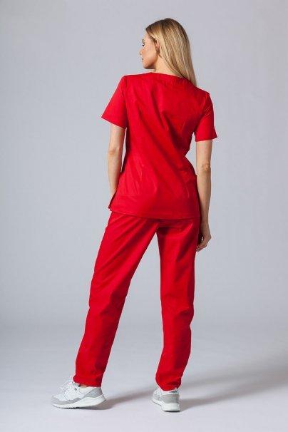komplety-medyczne-damskie Zdravotnická súprava Sunrise Uniforms červená