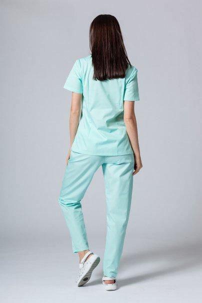 komplety-medyczne-damskie Zdravotnická súprava Sunrise Uniforms mátová
