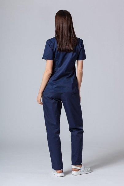 komplety-medyczne-damskie Zdravotnický komplet Sunrise Uniforms tmavě modrý 2