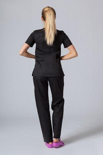 komplety-medyczne-damskie Zdravotnická súprava Sunrise Uniforms černá