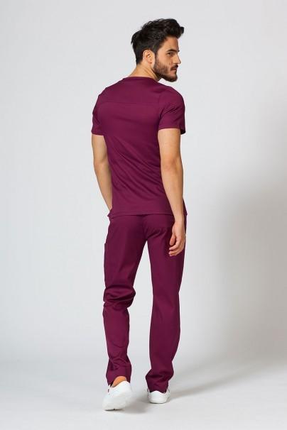 nohavice Lékařské nohavice Maevn Matrix Men Classic čerešňová červená