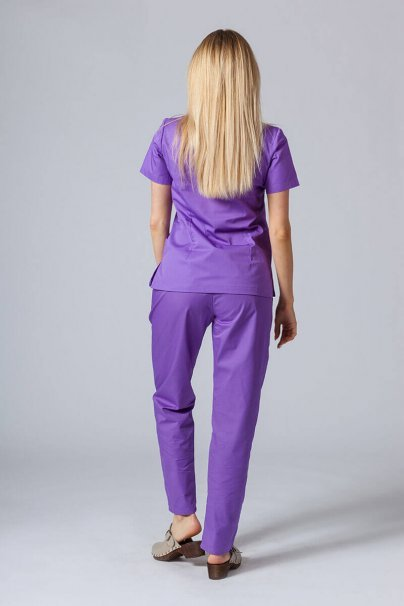 komplety-medyczne-damskie Zdravotnická súprava Sunrise Uniforms fialová