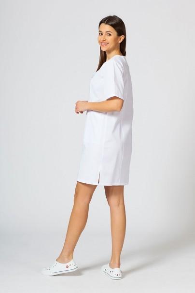 sukienki Lékařské Klasické šaty Sunrise Uniforms biele