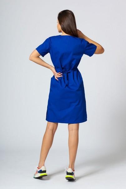 saty-1 Lékařské jednoduché šaty Sunrise Uniforms tmavo modré