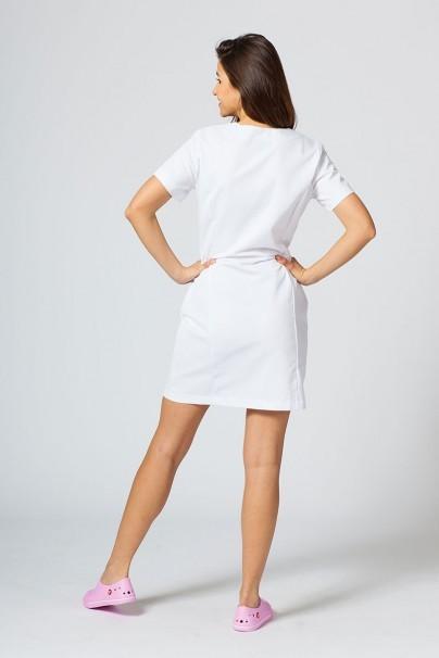 tuniky-1 Zdravotnická / kosmetická zástěra/tunika MeClo bílá