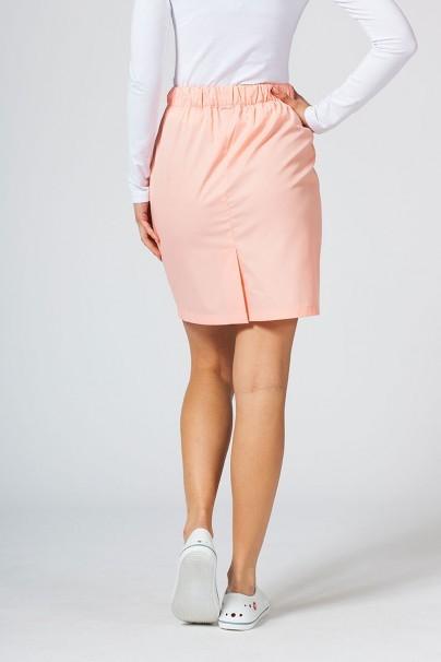 sukne-1 Krátka zdravotnícka sukňa Sunrise Uniforms lososová