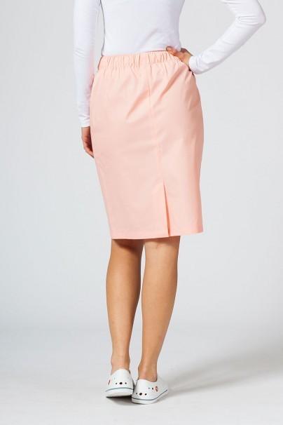 sukne-1 Dlhá zdravotnícka sukňa Sunrise Uniforms lososová