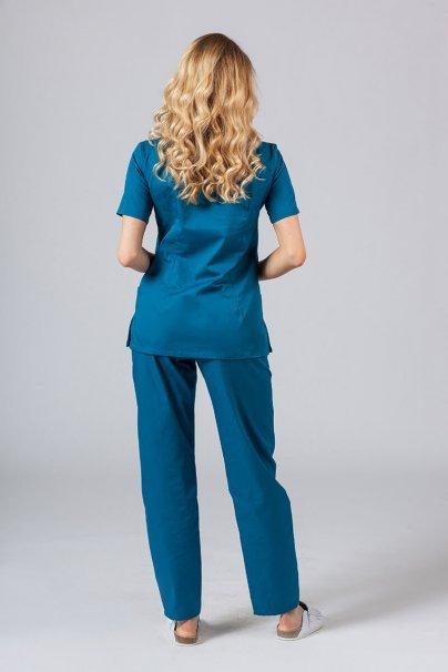 komplety-medyczne-damskie Zdravotnická súprava Sunrise Uniforms karibsky modrá