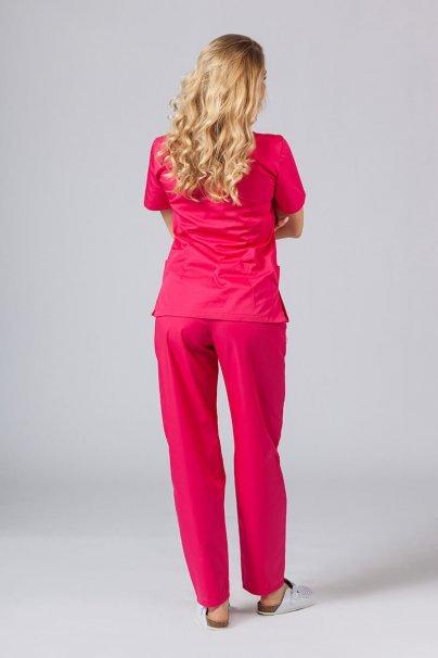 komplety-medyczne-damskie Zdravotnická súprava Sunrise Uniforms malinová