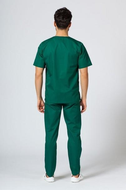 bluzy-1-1 Univerzálna lekárska blúzka Sunrise Uniforms tmavo zelená
