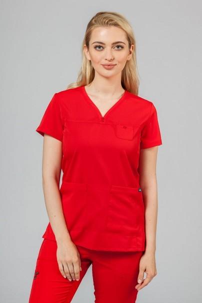 soupravy Lekárska súprava Adar Uniforms Ultimate červená (s blúzkou Sweetheart - elastic)