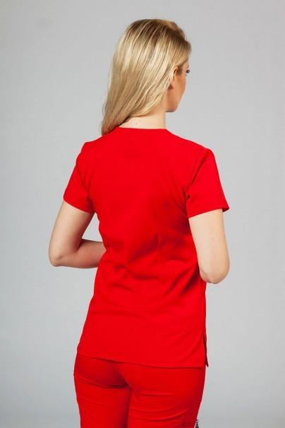 bluzy-2 Dámska blúzka Adar Uniforms Sweetheart červená