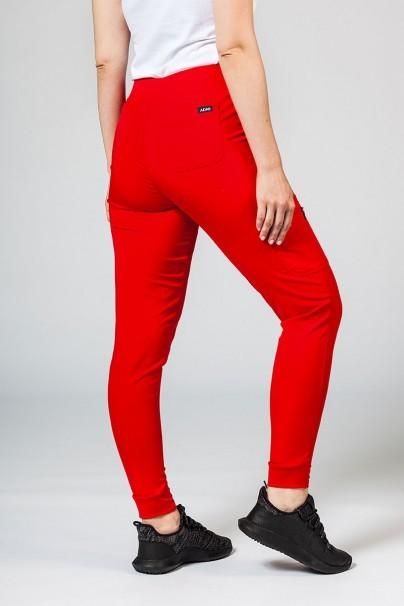 kalhoty-1-1 Dámske nohavice Adar Uniforms Ultimate Yoga Jogger červené