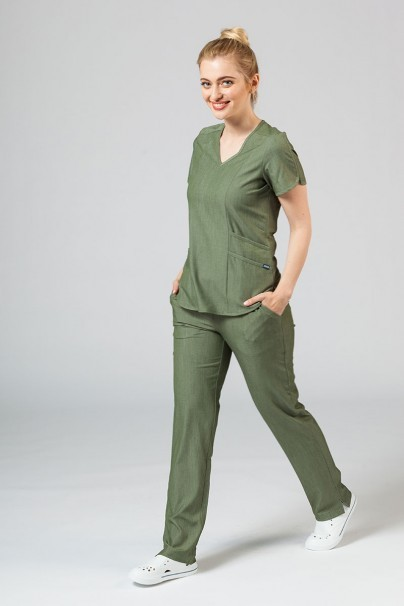 bluzy-2 Dámska blúzka Adar Uniforms Modern olivková
