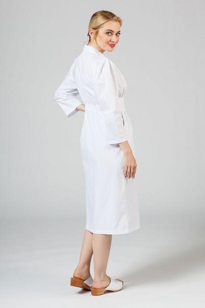 saty-1 Dámske zdravotné šaty Adar Uniforms Midriff biele