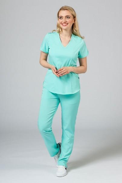 bluzy-2 Dámska blúzka Adar Uniforms Modern aqua