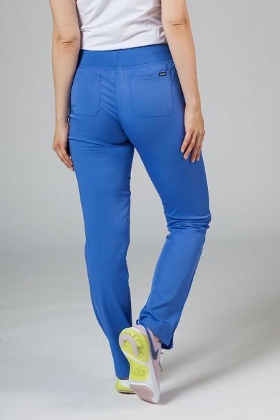 kalhoty-1-1 Dámske nohavice Adar Uniforms Leg Yoga klasicky modré