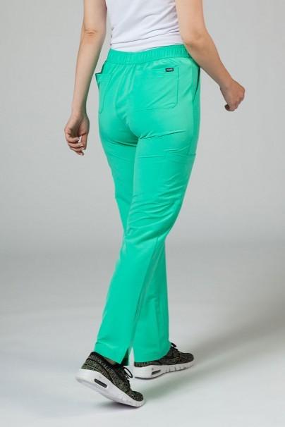 kalhoty-1-1 Dámske nohavice Adar Uniforms Skinny Leg Cargo svetlo zelené