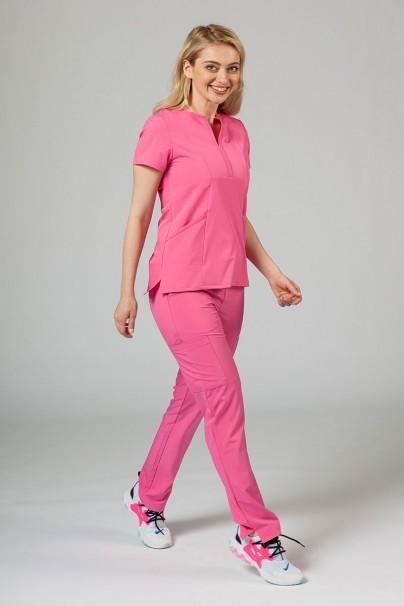 bluzy-2 Dámska blúzka Adar Uniforms Notched ružová