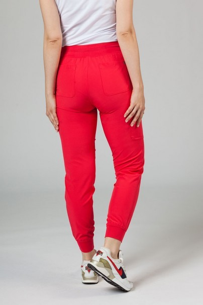 spodnie-medyczne-damskie Dámské nohavice Maevn Matrix Impulse Jogger malinové (melounové)