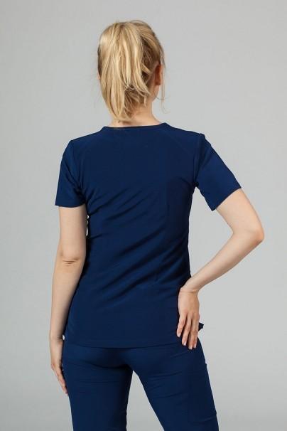 bluzy-medyczne-damskie Dámska blúzka Maevn Matrix Impuls námornícky modrá