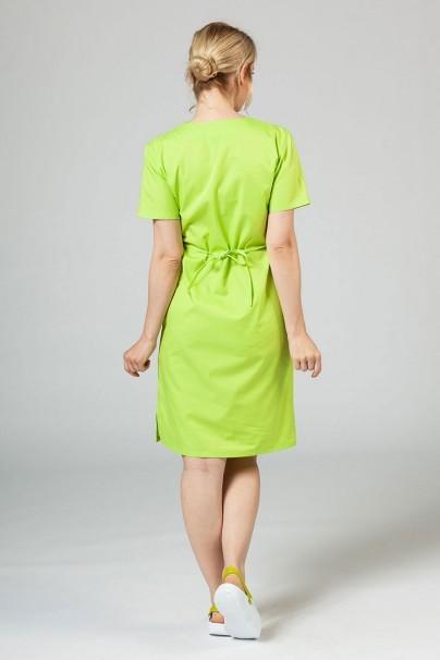 saty-1 Lekárske jednoduché šaty Sunrise Uniforms limetkové