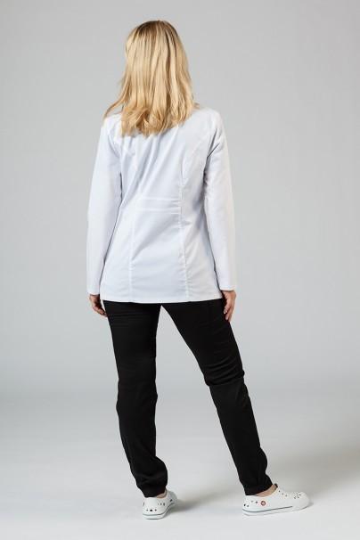 plaste-2 Lekársky plášť Adar Uniforms Tab-Waist krátky biely (elastický)